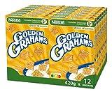 Cereales Nestlé Golden Grahams - 12 paquetes de 420 g