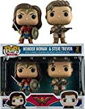 Set 2 Figuras Pop! DC Wonder Woman Movie Wonder Woman & Steve Trevor Exclusive...