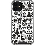 Skinit Clear Phone Case Compatible with iPhone 12 - Officially Licensed Disney Alice in Wonderland Silhouette Design