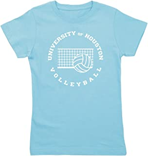 CafePress - University of Houston Volleyball - Girl's Cotton T-Shirt, Cute Slim Fit Girl's Shirt
