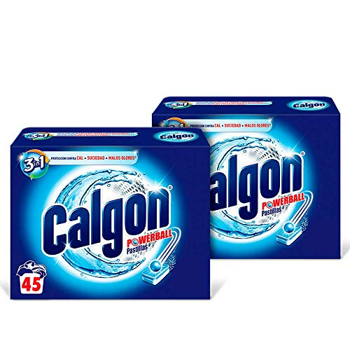 Calgon Antical Washing Machine Tablets 45 Pack 2