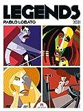 Legends - Pablo Lobato, Musiklegenden Kalender 2021, Wandkalender / Designkalender im Hochformat (50x66 cm) - Musiker-Porträts im Posterformat