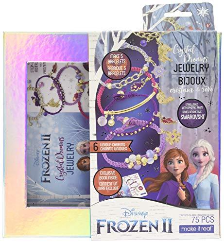 Make It Real 4380 Disney: Frozen II-Swarovski Crystal Dreams Jewelry Bracelet Set
