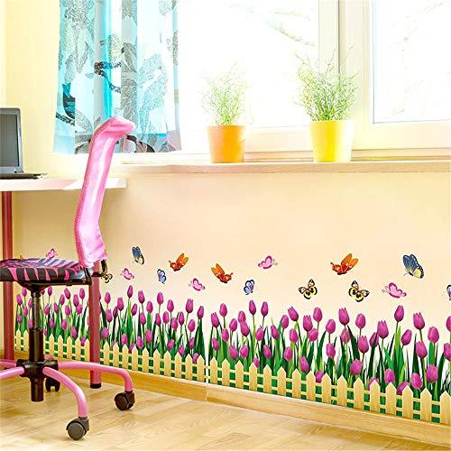 Tmvvf Antistatische Wandaufkleber Wohnzimmer Schlafzimmer Aufkleber visuelle wirkung Jugendliche Universität schlafsaal Wandkunst Wandbilder Poster Fence