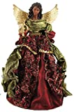 Santa's Workshop Aa Christmas Angel Tree Topper, 15' Tall, Red/Gold/Green
