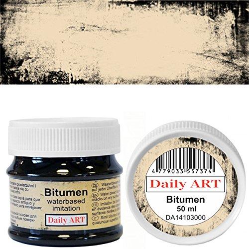 Daily ART a base d'acqua patina effetto imitazione bitume 50 ml per decorazione artigianale e decoupage