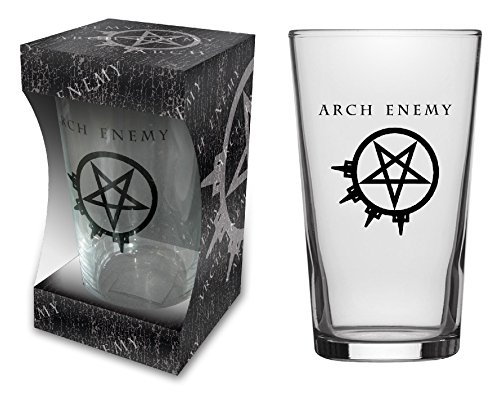 Arch Enemy BIERGLAS/Beer Glass # 1 Pure Fucking Metal - Pint 570 ml