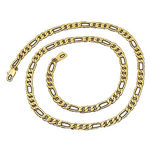 duoying Collar unisex colgante collares elegante clásico collar joyería accesorios verano moda circular europeo y americano chapado en oro collar de los hombres