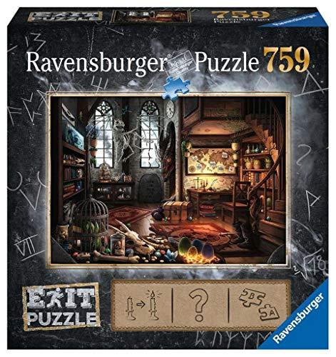 Ravensburger Puzzle 19954 - Drachenschloss: Im Drachenlabor 759 Teile Exit Puzzle - Premium Qualität für EXIT- begeisterte ab 12 Jahren