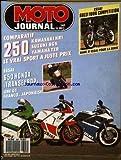 MOTO JOURNAL [No 893] du 11/05/1989 - ESSAI GUZZI 1000 COMPETITION, BANC D'ESSAI POUR LA SERIE. COMPARATIF : 250...