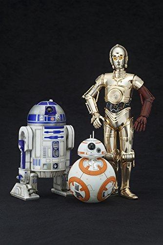 Kotobukiya ARTFX+ Star Wars The Force Awakens Movie C-3PO R2-D2 with BB-8 1/10 Figure image