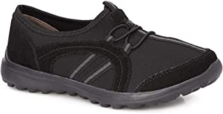 Pavers Womens Lightweight Slip On Trainers Flexible Sole Sports Casual Shoes