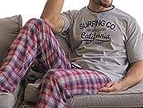KLER - Pijama Chico Hombre Color: Gris Talla: x-Large