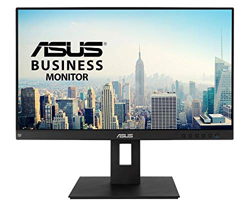 ASUS BE24EQSB 60,45 cm (24 Zoll) Business Monitor (Full HD, IPS, ergonomisch, Blaulichtfilter, HDMI, DisplayPort, VGA, 4x USB 3.0) schwarz