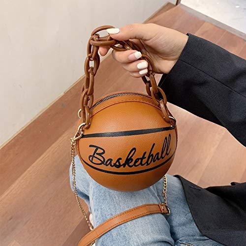 Xzbnwuviei Acryl Single Schulter Schulter Diagonale Basketballtasche, Frauen Mädchen Basketball...