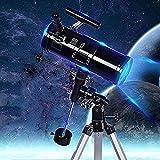 MWKL Refractor de telescopio Profesional, Viaje, Refractor de Longitud Focal de 700 mm, astronomía para Adultos, Principiantes, niños, Paquete 1