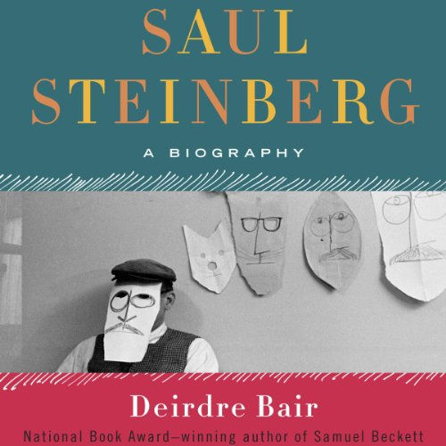 Saul Steinberg audiobook cover art