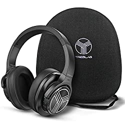 top rated TREBLAB Z2 | Workout Headphones with Microphone | Bluetooth 5.0, Active Noise Canceling… 2021