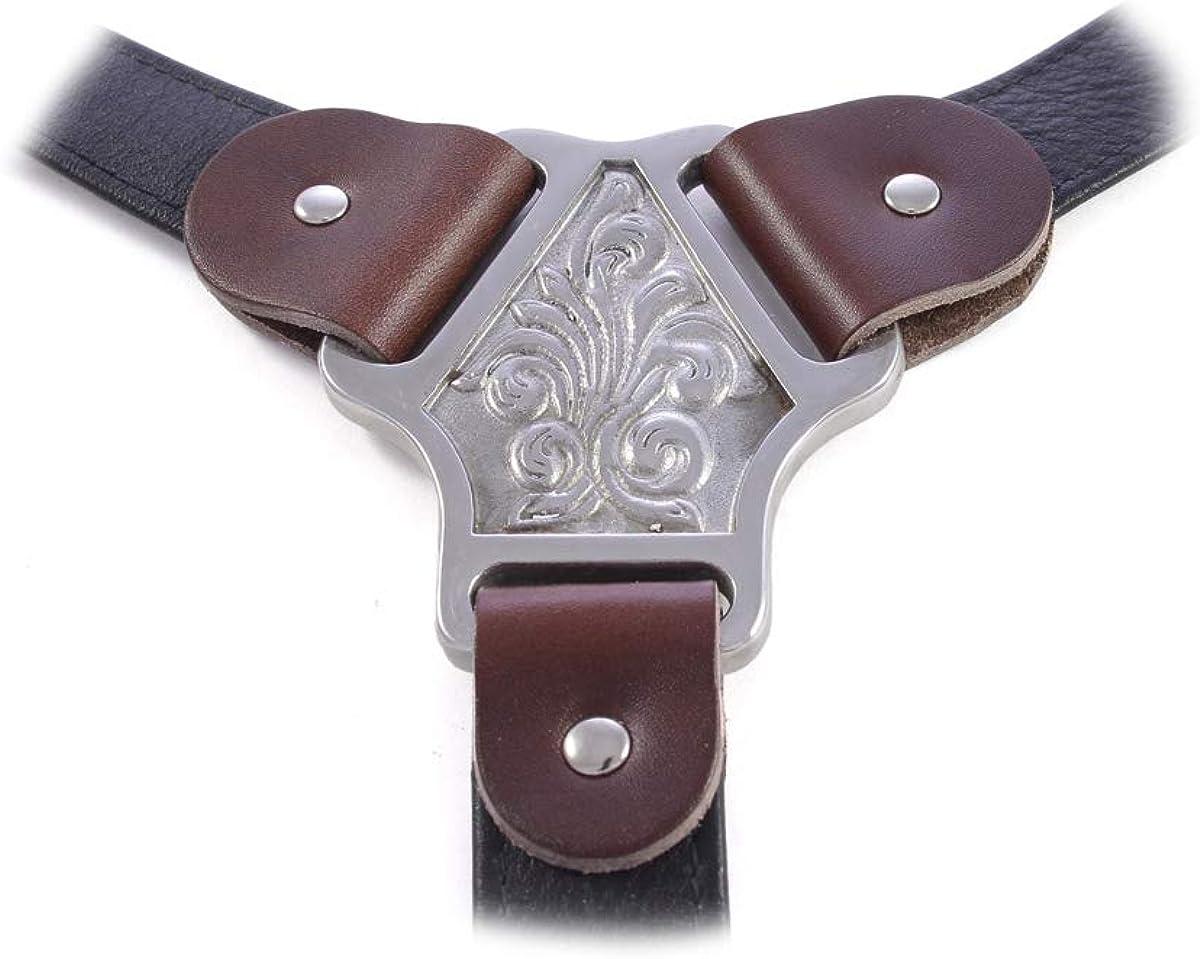 Classic Leather Suspenders