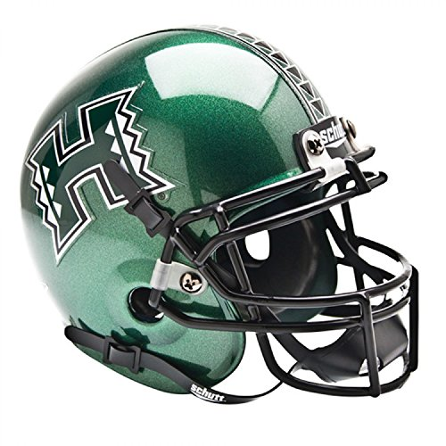 Schutt Sports NCAA Hawaii Warriors Mini Authentic Football Helm, klassisch