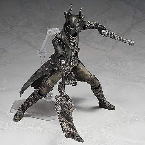 Decoration Bloodborne: Hunter Figura de Acción Modelo PVC Personaje Anime Estatua Colección Niño Juguete de Regalo 15cm