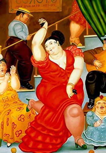 Botero 06 Poster cm 35x50 Affiche Plakat Fine Art Il Negozio di Alex