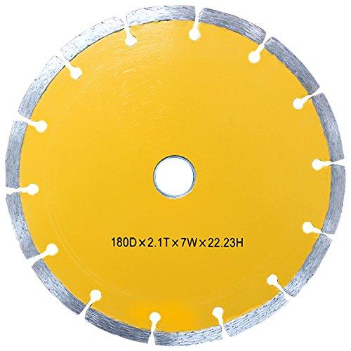 WEIMALL ダイヤモンドカッター 180mm 替刃 替え刃 DC180