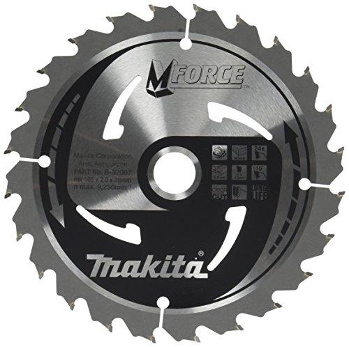 Makita B-32007  Mak-Force Kreissägeblatt, 165 mm für Hand und Tischkreissägen