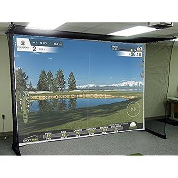 Simulateur de golf Impact Screen - Toile résistante au chocs, grand écran