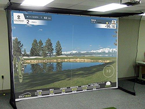 Simulateur de golf Impact Screen - Toile résistante au...