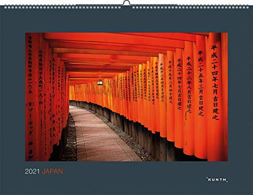 Japan 2021: Wandkalender (KUNTH Wandkalender Black Edition)