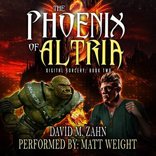 The Phoenix of Altria: A LitRPG Series audiobook cover art