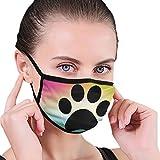 CZLXD - Máscara Antipolvo para Perros, Color Negro