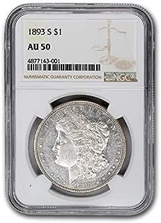 1893 S Morgan Dollar AU-50 NGC $1 AU-50 NGC