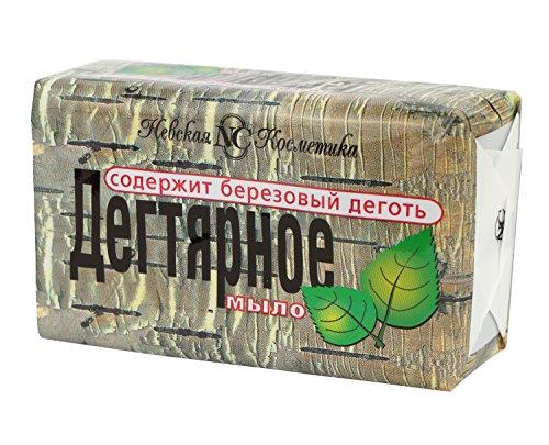 Birkenteerseife Kernseife mit Birkenteer Extrakt Seife Дегтярное Мыло Antiseptische