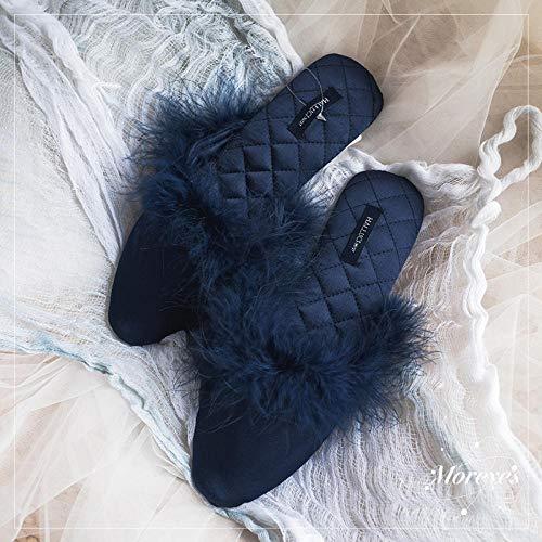 Flip Flop-GQ Novia de la Boda con Zapatillas de Raso de Dama...