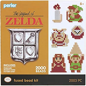 Perler Beads Link Legend of Zelda Fused Bead Kit 2002pc.