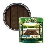 Cuprinol 5092620 2.5L Anti Slip Decking Stain Hampshire Oak
