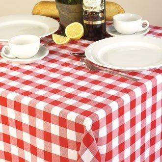 20 Restauration ce474, Nappe, Palmar vichy, à carreaux rouge/blanc