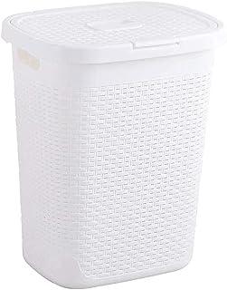 Pkfinrd Panier à linge en plastique étanche pour salle de bain