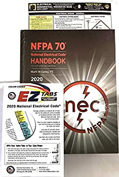 NEC 2020 Handbook  HARDCOVER  with Ez Color Tabs and BBI Residential Rough in 2020
