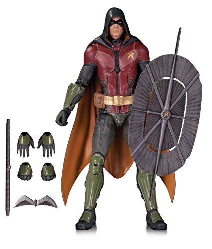 DC Comics Figurine à Collectionner - Batman Arkham Knight Toy - Robin Action