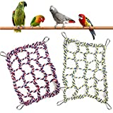 2 Pcs Pet Climbing Rope Net, Bird Hamster Climbing Rope Ladder, Ferret...