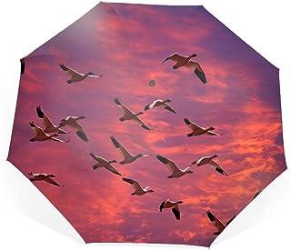 折りたたみ傘 逆折り式傘 ワンタッチ自動開閉 高強度グラスファイバー8本骨 耐風撥水 日傘ワシントンの移住 UVカット 遮光率99% 晴雨兼用 レディース 旅行 アウトドア用 収納ポーチ付