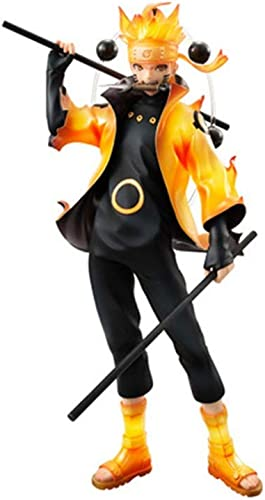 DYHOZZ Naruto Jouet Statue Uzumaki modèle Anime, Jouet de décoration de Bureau à Domicile - 18CM Statue de Jouet