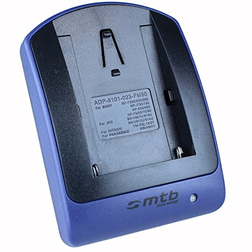 Cargador (Micro-USB, sin Cables/adaptadores) FM500H para Sony DSLR Alpha A300 A350./ SLT-A58...