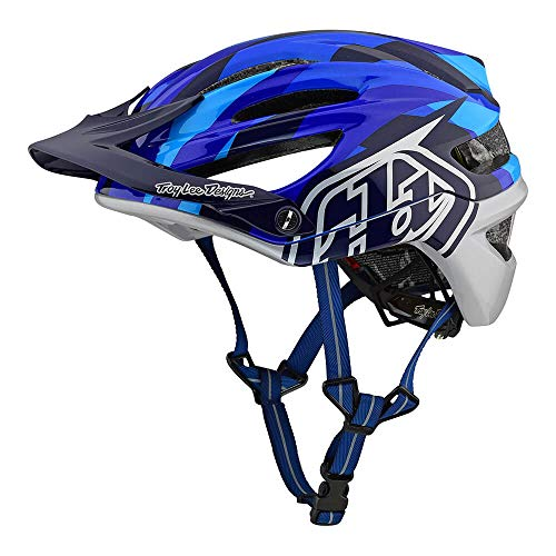 Troy Lee Designs Adult | Trail | All Mountain | Mountain Bike A2 MIPS Camo Helmet (MD/LG, Blue)