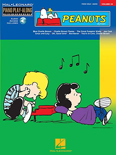 Peanuts: Piano Play-Along Volume 33 [With CD]