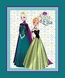 Disney Frozen/Anna und Elsa Coronation 100% Baumwolle,