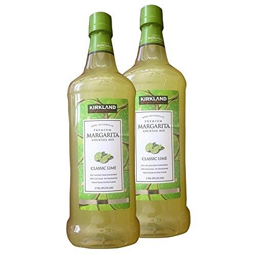 Kirkland Premium Margarita Cocktail Mix, 1.75 L(59.2 fl oz), Pack of 2